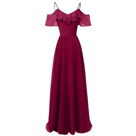 Licyen Vestido De Noche De Las Señoras Vestido Largo De La