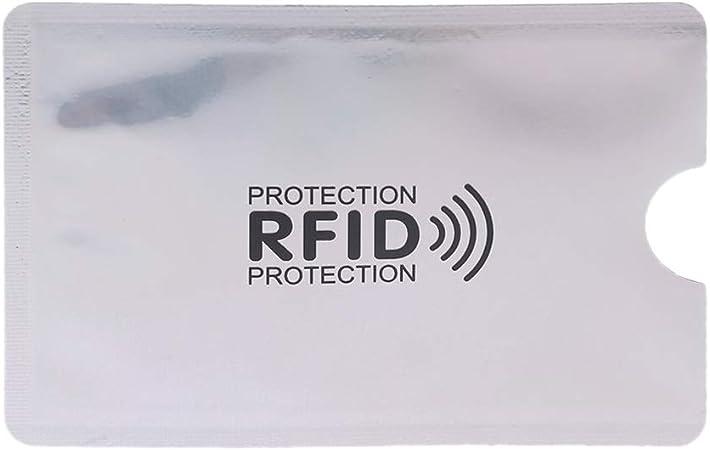 Protege Carte Bancaire Anti RFID Anti FRAUDE Pencilupnose/© 1x Etui Carte Bancaire Anti Piratage Carte Bleue sans Contact Protection Carte Bancaire