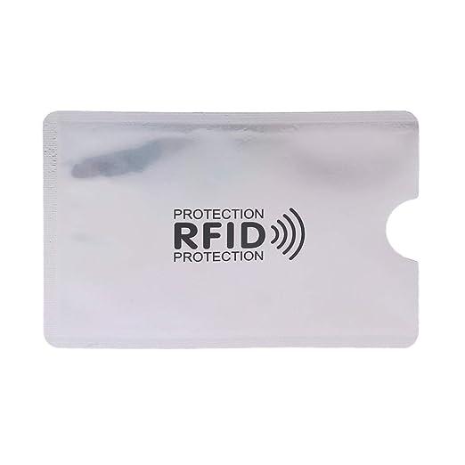 SimpleLife Fundas para Tarjetas de crédito con Bloqueo RFID ...