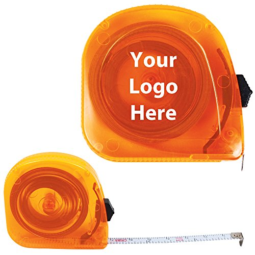 10 Ft. Translucent Tape Measure - 150 Quantity - 1.85 Each - PROMOTIONAL PRODUCT/BULK/BRANDED with YOUR LOGO/CUSTOMIZED