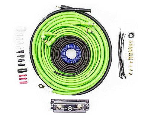 SoundQubed 4 Gauge Amplifier Wiring Kit (900w Mono Channel Amplifier)