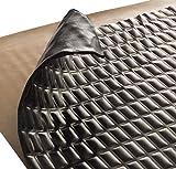 Sound Deadening mat Silver Black 80mil - Sound Deadener Mat - Car Sound Dampening Material - Sound dampener - Sound deadening Material Sound Insulation - Car Sound deadening (80 mil 7.5 sqft Black)