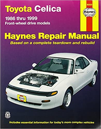 Toyota celica fwd 8699 haynes repair manuals haynes toyota celica fwd 8699 haynes repair manuals 1st edition fandeluxe Images