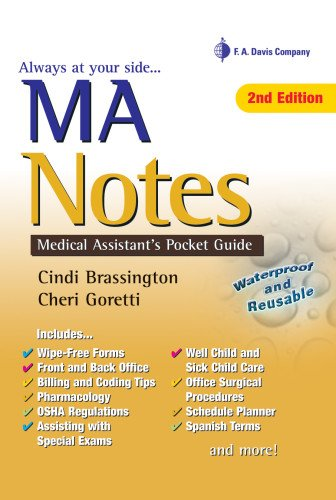 Pdf Medical Books MA Notes: Medical Assistant's Pocket Guide