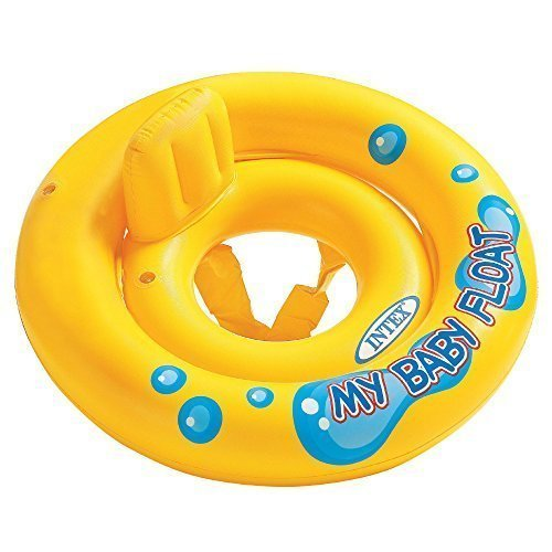 Intex, 43234-2336 59574EP My Baby Float, Yellow