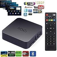 E&Tree MXQ Android TV Box, Internet 1080p HD WiFi Streaming Video Player ,Ultra HD 4K, Amlogic S805 Quad Core TV Box- (MXQ 1GB RAM,8GB ROM)