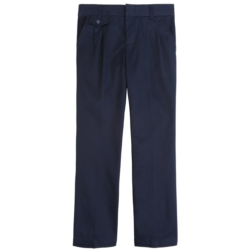 French Toast Girls Adjustable Waist Pleated Pant