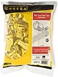 Zareba IRTY-Z Poly Tape Round Post Insulator, Yellow, 25 per Bag