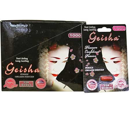 Geisha for Women 1000mg 1ct (30/DP) by National Video