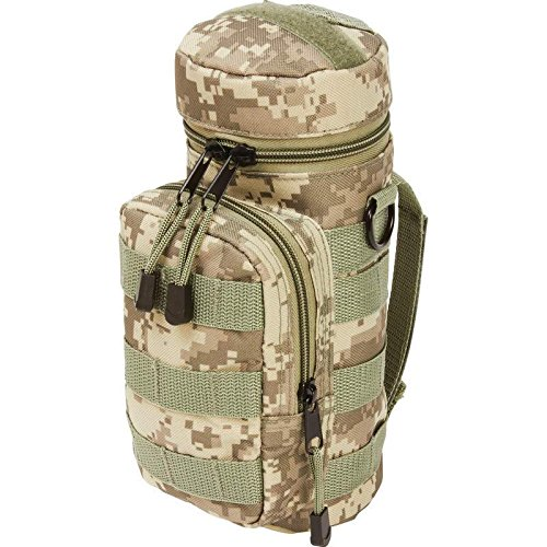 BNFUSA LUWBPDC Extreme Pak Digital Camouflage Water Bottle Molle Pouch