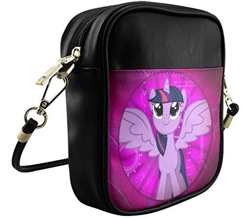 Sling Female with Shoulder Sb004mlpt15 Pony Leather Crossbody Bag Little My Fashion Background Bag Bag qSBwE8U5