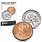 Dime and Penny Trick - Make A Dime Disappear By Magic Makers