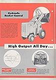 1951 Hough Payloader Model HA Loader Shovel Tractor