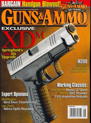 Guns & Ammo, August 2008 Issue ()