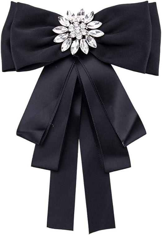 1PCS Mujeres Chica Broches de cinta de diamantes de imitación Pin ...