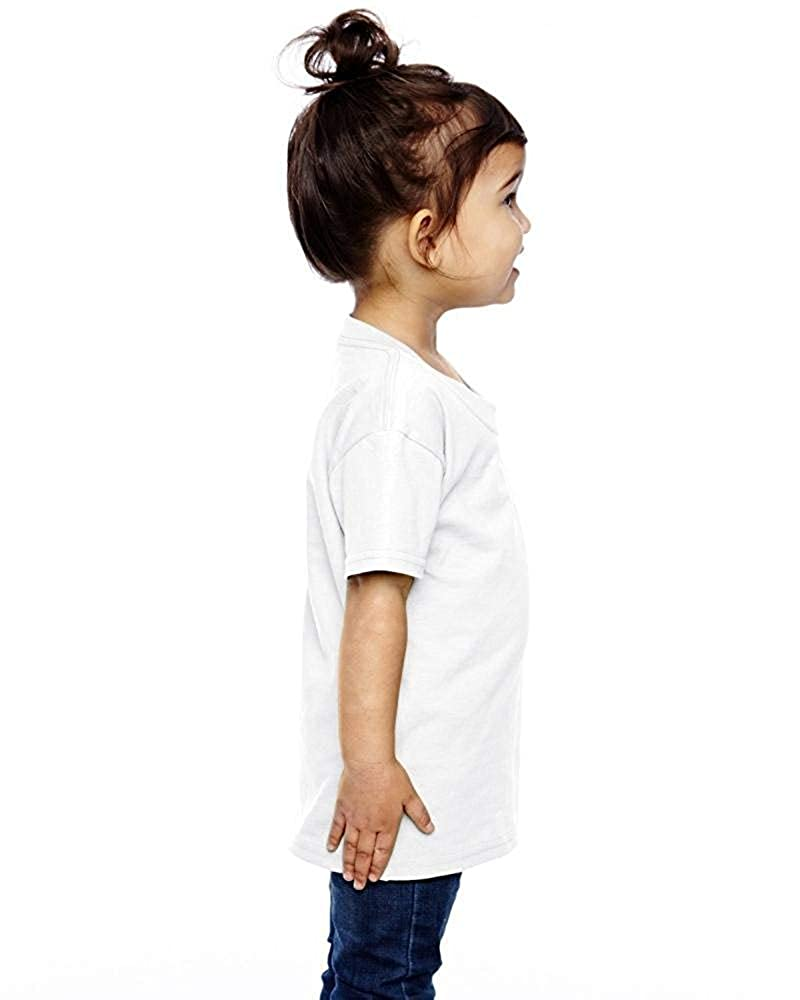 Alpaca Cute Infant Kids Crew Neck Short Sleeve Shirt Tee for 2-6 Toddlers