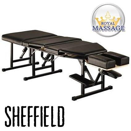 amazon com sheffield elite professional portable chiropractic table