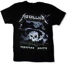 "Adult Metallica ""Creeping Death"" Black Slim Fit T Shirt"