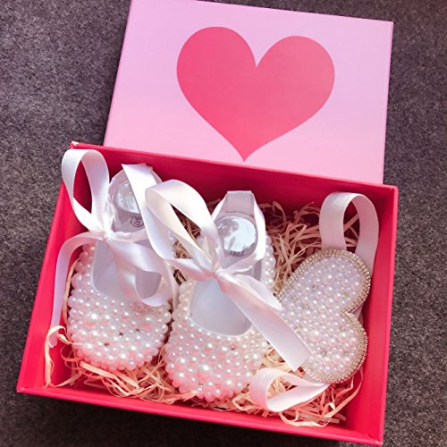 Buy baby girl bling christening shoes
