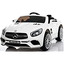 Ride On Car - Electric Power Wheels for Kids - 12v Battery Powered Ride On Cars - With Remote Control Car - Battery Operated Ride On Toy For Kids - MP3 LED Wheels MP4 Touch Screen White color