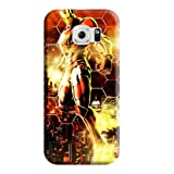 Fashion Mobile Phone Carrying Cases Marvel vs. Capcom Skin Durability Samsung Galaxy S6 Edge