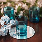 Efavormart Turquoise Votive Candle Holders-12/pk