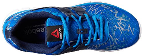 Reebok Sublite XT Cushion GRFTMT - Zapatillas de running, Hombre Azul / Gris / Blanco (Blue Sport / Coll Navy / Tin Grey / White)