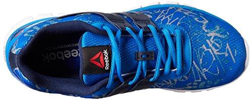Reebok Sublite XT Cushion GRFTMT - Zapatillas de running, Hombre Azul (Blue Sport / Coll Navy / Tin Grey / White)