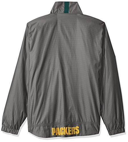 NFL THE Executive Full Zip Jacket, herren, The Executive Full Zip Jacket, dunkelgrau, Small