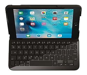 Logitech Focus - teclados para móviles (Negro, ABS sintéticos, Policarbonato, Resistente al Agua, Mini, Apple, iPad Mini 4): Amazon.es: Informática