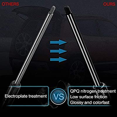 ARANA 6117 Rear Hatch Liftgate Struts Compatible with Honda Odyssey 2005-2010 Gas Charged Lift Supports Gas Prop Shocks Arms with Out Powered Tailgate 2 pcs: Automotive