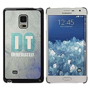 Be Good Phone Accessory // Dura Cáscara cubierta Protectora Caso Carcasa Funda de Protección para Samsung Galaxy Mega 5.8 9150 9152 // Do It Clever Motivational Inspirational Text