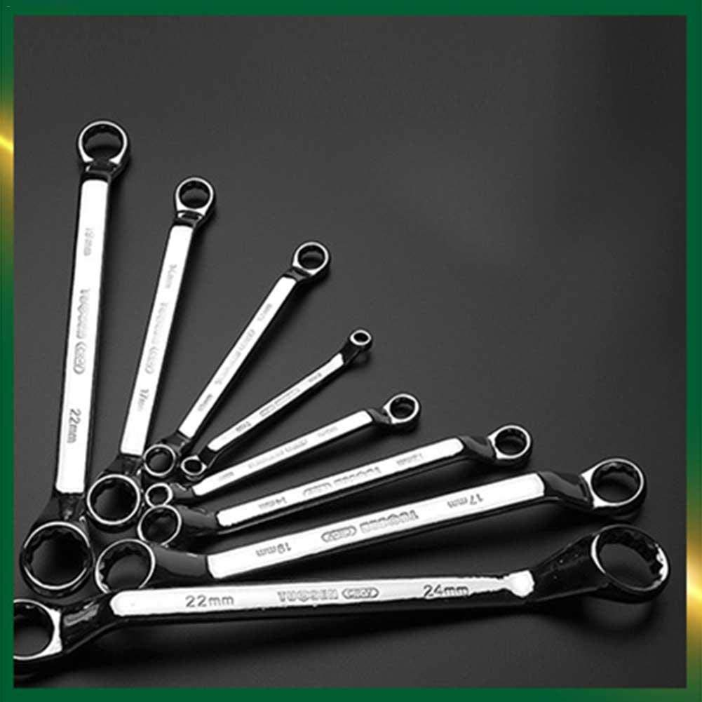 dacyflower 8 Piece Wrench TET Double End Wrench Manual Torx Wrench Set Metric 6 MM 24 MM