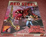Savage Baronies/Book and CD and Full Color Poster Map (Advanced Dungeons & Dragons Red Steel)