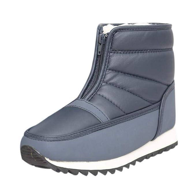Botas de Nieve para Mujer, Calzado Casual de Invierno Antideslizante Antideslizante, Botas