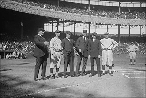 24x36 Poster; Ny Yankees Player Roger Peckinpaugh With Ny Gi