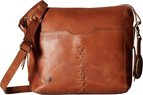 Broncos Brown Leather - Born Womens Wylie Bronco Leather Saddle One Size