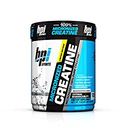 BPI Sports Micronized Creatine, Unflavored, 600 Grams