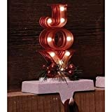 8'' LED Joy Marquee Stocking Holder, Battery-Operated #30436