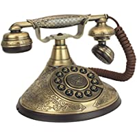 Design Toscano Antique Phone - Versailles Palace 1935 Rotary Telephone - Corded Retro Phone - Vintage Decorative Telephones