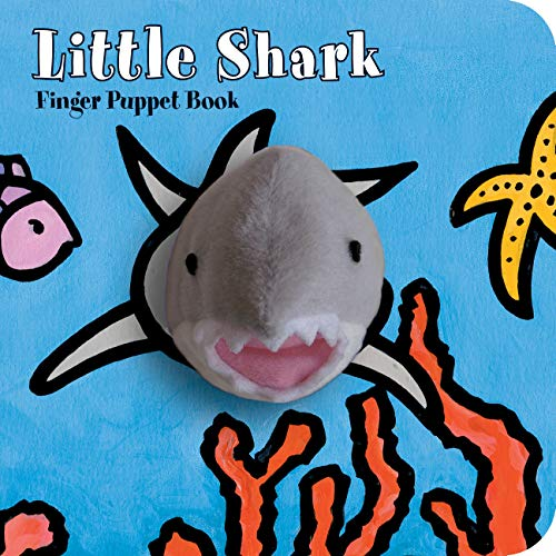 Dog Puppet Show Book - Little Shark: Finger Puppet Book (Little Finger Puppet Board Books)