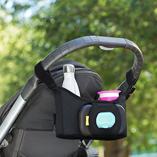 Brica Stroller Organizer Plus by Munchkin Coverts to Handy Tote