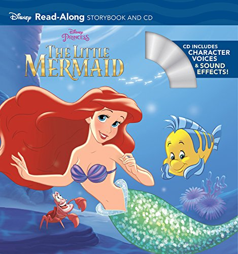 The Little Mermaid Read-Along Storybook and CD (Cd Ipod Boombox)