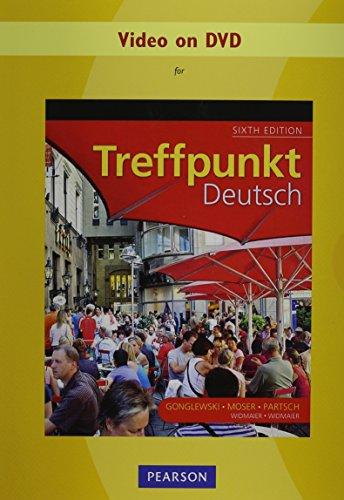 Video on DVD for Treffpunkt Deutsch: Grundstufe