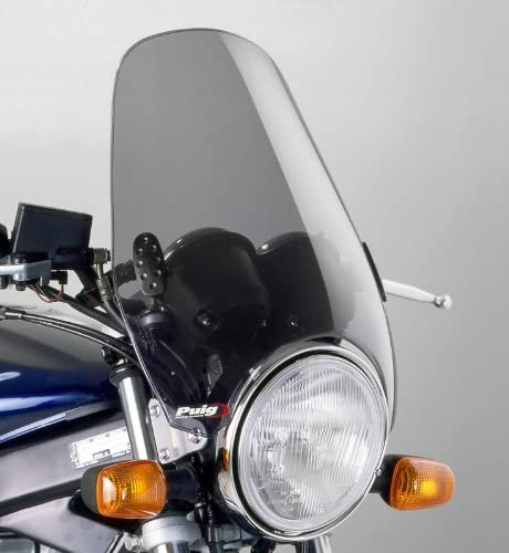 Windschild Puig Custom Ii Klar Für Yamaha Sr 125 250 500 Vmax Xj 600 N Xjr 1200 Sp 1300 Xv 125 1100 Virago Xv 1600 A Wild Star Xv 1700 Road Star Warrior Xv 250 535 750 Virago Auto
