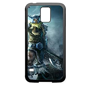 Olaf-002 League of Legends LoL case cover Iphone 4/4S - Rubber Black