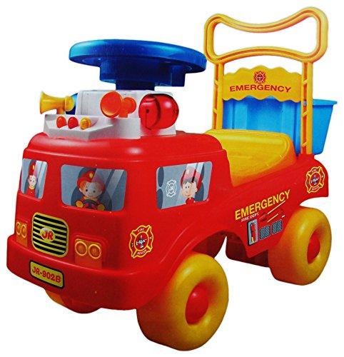 Feuerwehr-Polizei-Krankenwagen Rutscher