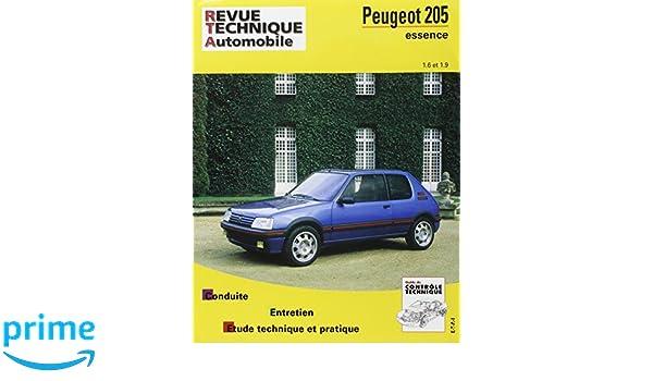 Rta 707.2 peugeot 205 essence 1.6/1.9 84/97: Amazon.es: Libros en idiomas extranjeros