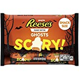 (US) REESE'S White Peanut Butter Snack Size Ghosts 10.2 Ounce
