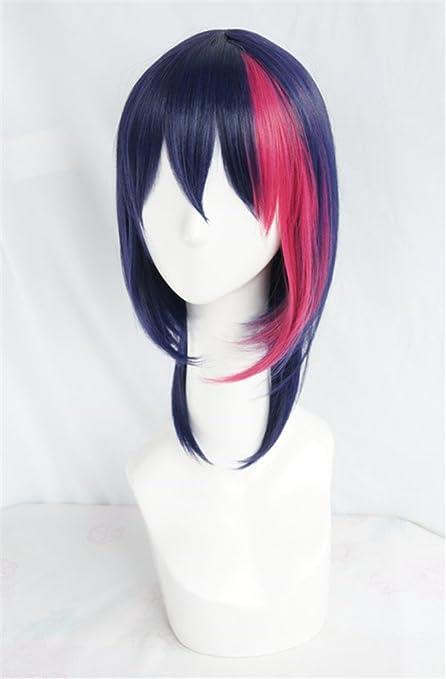 LanTing Cosplay Peluca B-Project Korekuni Ryuji Blue Mix ...